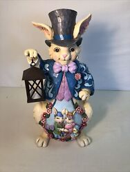 Jim Shore Easter Bunny Holding A Light 19inches Item 6003367