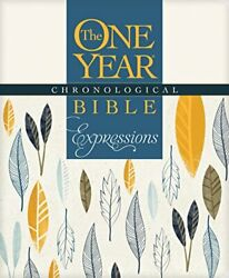 The One Year Chronological Bible Creative Expressions Full Size By Tyndale The