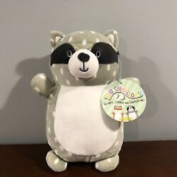 Rare Hug Mees Squishmallow Kellytoy Racoon Spots Spotted Speckled 2018 Nwt
