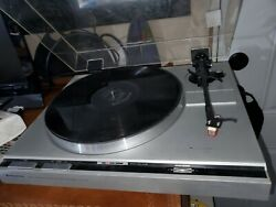 Kenwood Kd-40r Direct Drive Automatic Return Turntable - For Parts