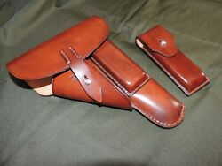 Walther P 38 Pistol Holster Leather Handmade .