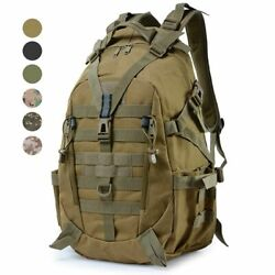 Tactical Molle Backpack Reflective Camouflage Rucksack Military Bag Utility Edc