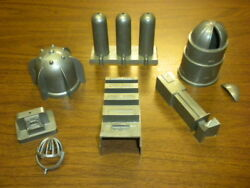 13 Marx Space Academy 1950's Playset Tom Corbett/rex/canaveral Accessories Lot 1