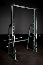 Fray Fitness Home Gym Smith Machine Fitness Exercise Multi Use