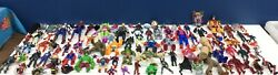 Loose Mixed Lot 95 Modern Vintage Marvel Avengers Xmen Action Figures Toys Used