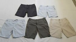 Mens Lot Of 6 Size 38 Cargo Summer Casual Everyday Shorts Old Navy, Hollister+++