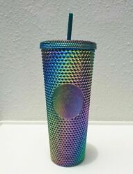 New In Hand Limited Edition Starbucks Singapore Oil Slick Studded Cold Cup