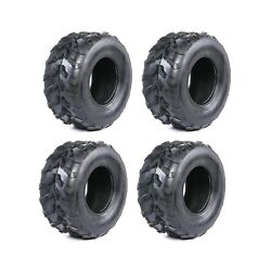4 Pack Of 16x8.00-7 Inch Atv Go Kart Tires Quad Tire 16x8-7 16/8-7 16x8x7 Buggy
