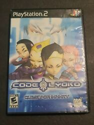 Code Lyoko Quest For Infinity Sony Playstation 2 2008 Complete W/ Manual
