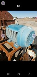 100 Hp 1185 Rpm Electric Motor With Grain Grinder