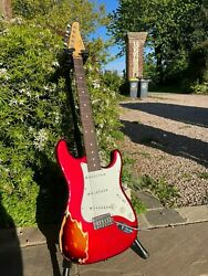 Suhr Classic Antique Limited Edition Finish Over Finish 2016 Candy Apple Red