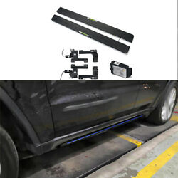 Aluminum Alloy Electric Side Pedals Foot Pedal For Jeep Grand Cherokee 2011-2021