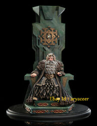 Weta Lord Of The Ring King Thror On Throne Statue Limited Figure Model In Stock