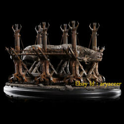 Weta Workshop Lord Of The Ring Grond Siege Hammer Statue Limited Model In Stock
