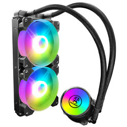 Cool Moon Cold Moon 240 -piece Pc Water Cooler With Rgb 120mm Quiet O0o6