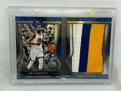 2017-18 Panini Opulence Kevin Durant Finals Booklet Jumbo Patch /25