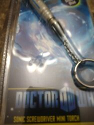Doctor Who Sonic Screwdriver Light Up Keychain