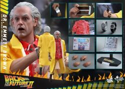 Hot Toys/back To The Future/ Doc Dr. Emmet Brown