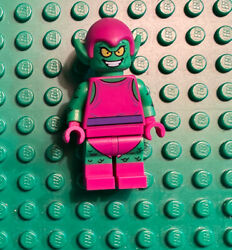 Lego Marvel Super Heroes Minifigure Green Goblin Magenta Outfit 76057 Spider-man
