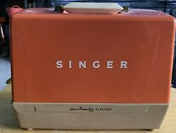 Vintage Singer Sewhandy Childs Electric Sewing Machine For The Young Seamstress