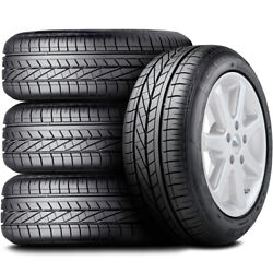 4 New Goodyear Excellence Rof 245/40r20 99y Xl High Performance Tires