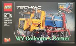 Retired Lego Technic Set 42024 Container Truck New And Factory Seal