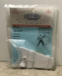 Pentair Aqualuminator Pool And Spa Light Fountain Attachment Replacement Kit White