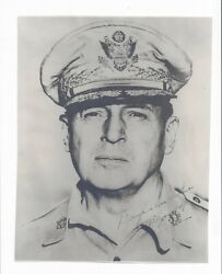 General Douglas Macarthur Signed Photograph Tokyo 1946 Wwii 7.5 X 9.5 Us Army