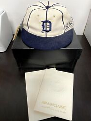 Ty Cobb Cooperstown Collection Roman Classic Hat Size 7 1/4