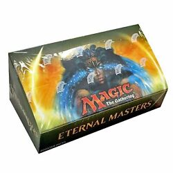 Eternal Masters Mtg Magic The Gathering Factory Sealed 4 Box Booster Case