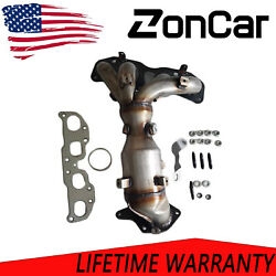 Exhaust Manifold W/ Catalytic Converter For Nissan Altima 07-13 2.5l W/ Hardware