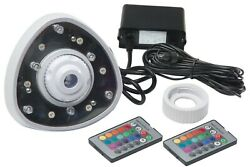 Pool Light Led Return Light W/remote For Above Ground Swimming Pools