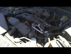Engine 2.5l Vin E 6th Digit Canada Pzev Emissions Fits 11-13 Forester 17302810