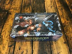 Magic The Gathering Sealed Strixhaven School Of Mages Draft Booster Box 36 Packs