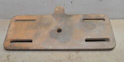 Cast Iron Swing Out Drill Press Table Early Delta Or Machinist Lathe Part Tool