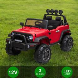 12v Electric Kids Ride On Truck Car Toy 3 Speed With Remote Control For Child