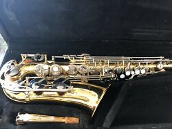 Vito Alto Saxophone Made In Japan Great Playing Condition W/case