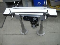 Dorner 252m06-0300303a141453 6 X 36 Long 2200 Series Conveyor With Guide Rails