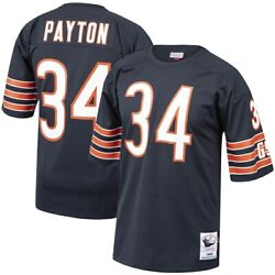 Chicago Bears Walter Payton 34 Mitchell And Ness Navy Nfl 1985 Authentic Jersey