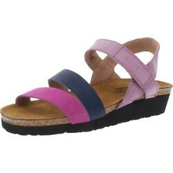 Naot Kayla Womenand039s Strappy Leather Cushioned Slingback Sandals