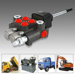 2 Spool Hydraulic Directional Control Valve For Small Tractors Log Splitters Usa