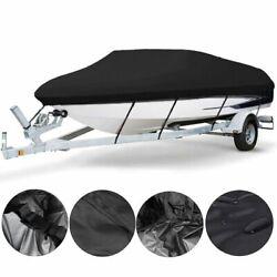 Barco Boat Cover Waterproof Heavy Duty Marine Canvas Boat Accessories