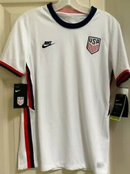 Nwt Nike Dri-fit Team Usa Olympics Youth Unisex Xl White Soccer Jersey Cd1060