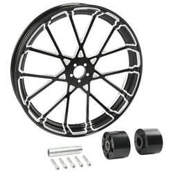 21''x3-1/2'' Front Wheel Rim Hub Dual Disc Fit For Harley Street Glide 08-up