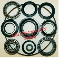 Quality 88-00 Honda Trx 300 Fourtrax Rear Differential And Axle Bearing And Seal Kit