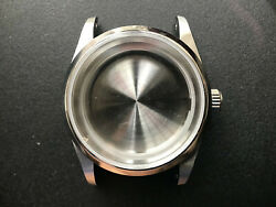 A 36mm Steel Explorer Watch Case With Drilled Through Lugs Fit Eta 2824 Or Nh35