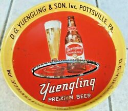 Yuengling Beer And Ale D.g.yuengling And Sons,inc.pottsville,red Bottle Tray,