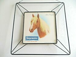 Burgermeister A Truely Fine Pale Beer With Palomino Champion Horse Beer Sign