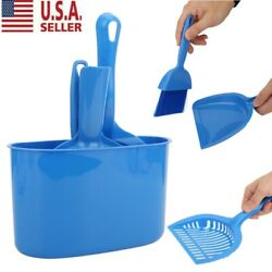 Cat Litter Scoop Plastic Scooper Sifter Deep Shovel Cleaning Tool For Cat Box US