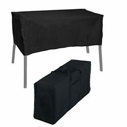 Bbq777 600d Heavy Duty Stove Carry Bag And Patio Cover For Camp Chef 3-burner...